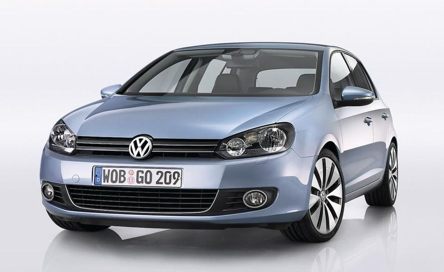 2010 Volkswagen Golf (European model) - Slide 15