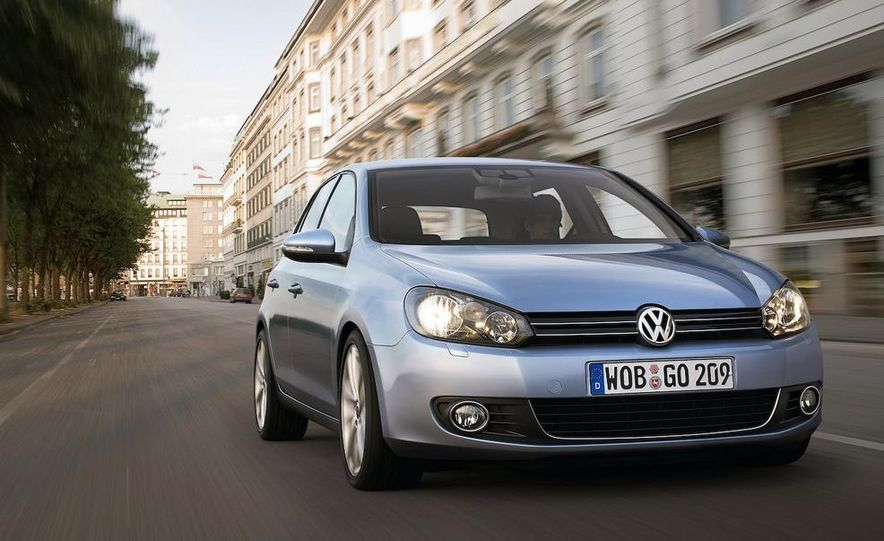 2010 Volkswagen Golf (European model) - Slide 18