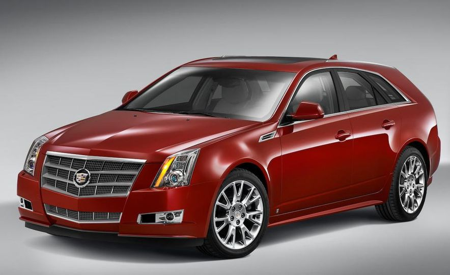 2010 Cadillac CTS Sport Wagon - Slide 1