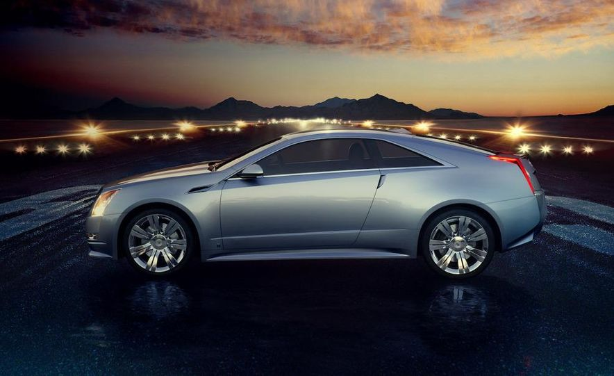 Cadillac CTS Coupe concept - Slide 3