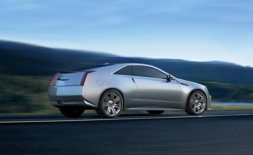 Cadillac CTS Coupe concept - Slide 4
