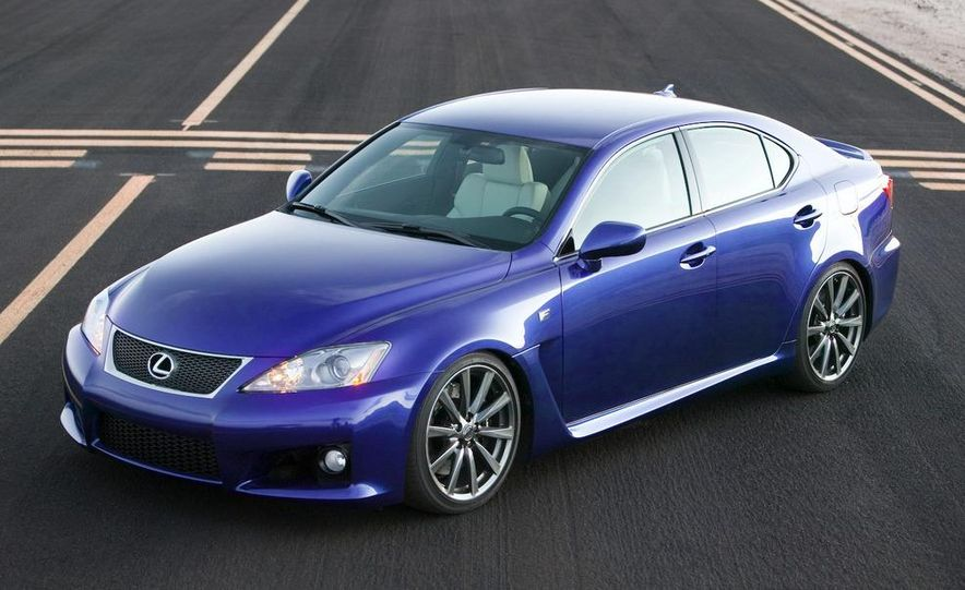 2009 Lexus IS F by 0-60 and 2009 Import Tuner TEIN Lexus IS F - Slide 6