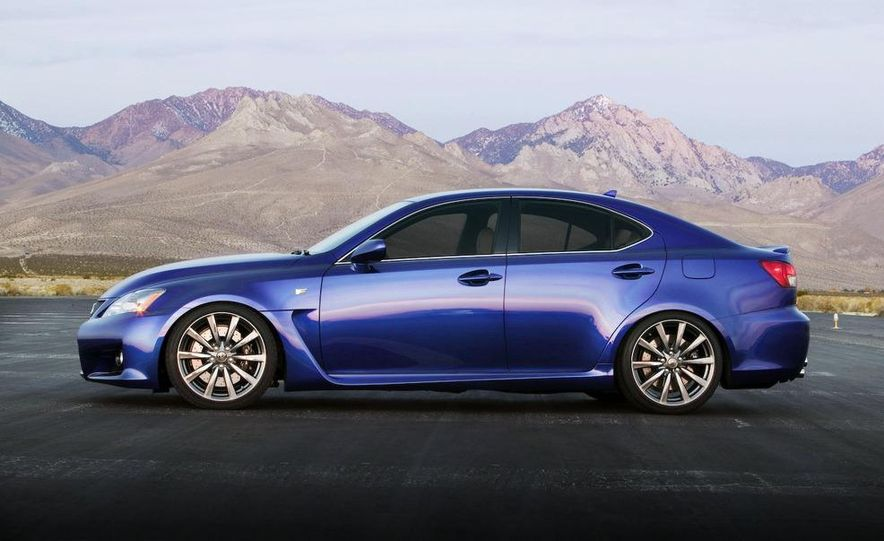 2009 Lexus IS F by 0-60 and 2009 Import Tuner TEIN Lexus IS F - Slide 7