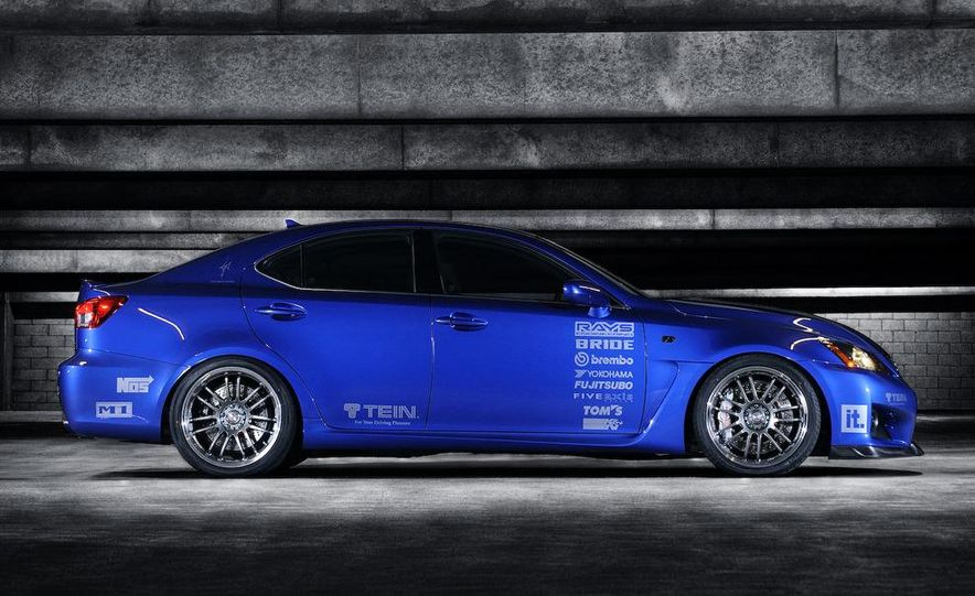 2009 Lexus IS F by 0-60 and 2009 Import Tuner TEIN Lexus IS F - Slide 2