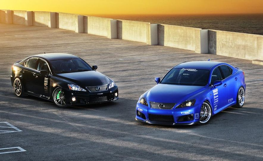 2009 Lexus IS F by 0-60 and 2009 Import Tuner TEIN Lexus IS F - Slide 1
