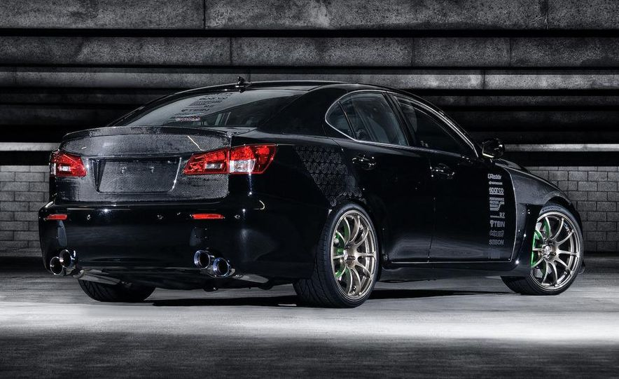 2009 Lexus IS F by 0-60 and 2009 Import Tuner TEIN Lexus IS F - Slide 3