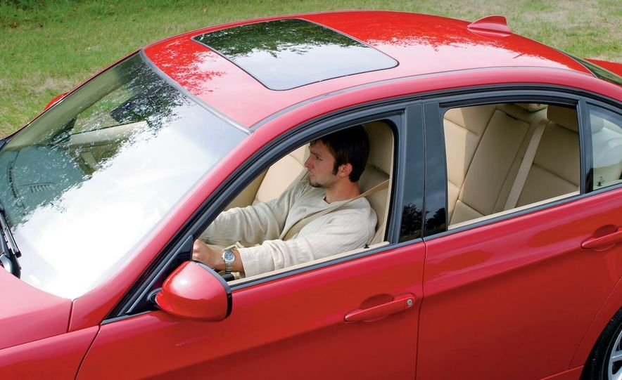 Driving with an open sunroof and closed windows is also wasteful, although not as much as windows-open mode. - Slide 1