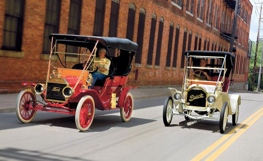 Built in 1904, Detroit's Piquette Avenue plant was the birthplace of the Model T. The building is now a museum, called the Model T-Plex, dedicated to the T as well as other early cars. - Slide 2