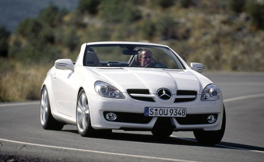 2009 Mercedes-Benz SLK350 - Slide 1