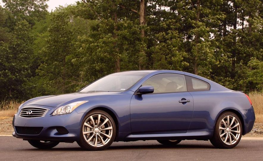 2009 Infiniti G37 convertible and coupe - Slide 15