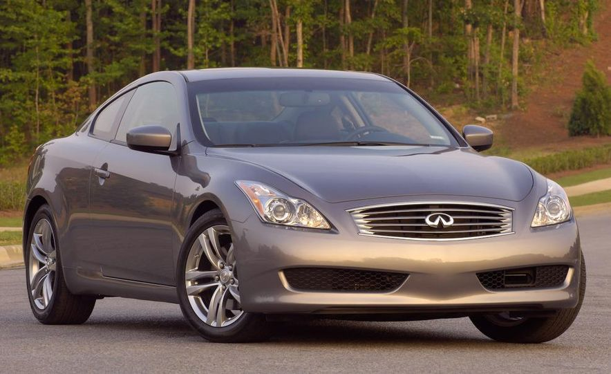 2009 Infiniti G37 convertible and coupe - Slide 16