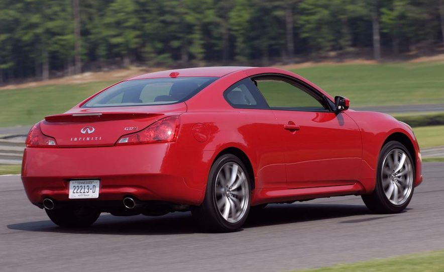 2009 Infiniti G37 convertible and coupe - Slide 20