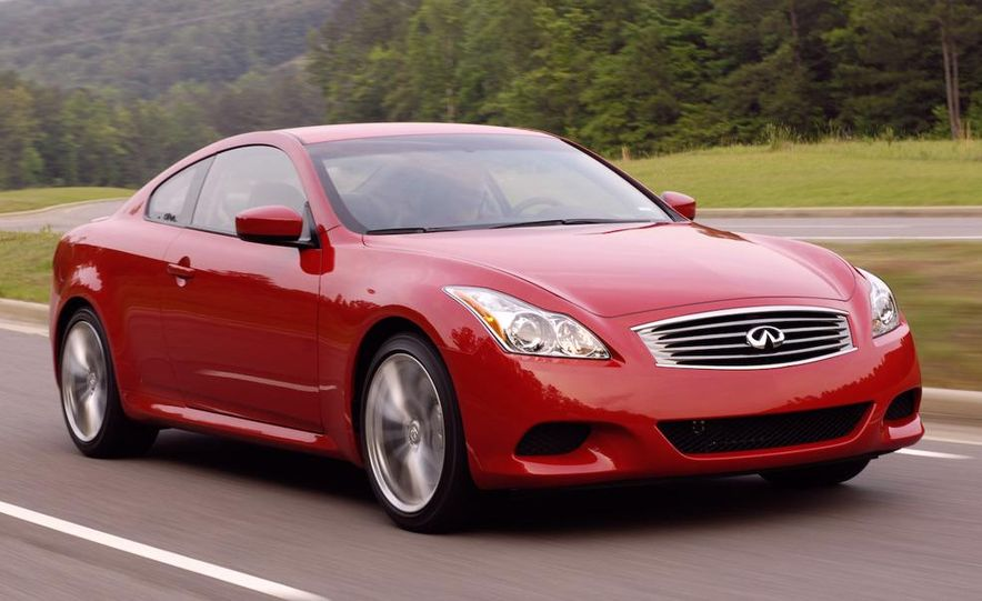 2009 Infiniti G37 convertible and coupe - Slide 23