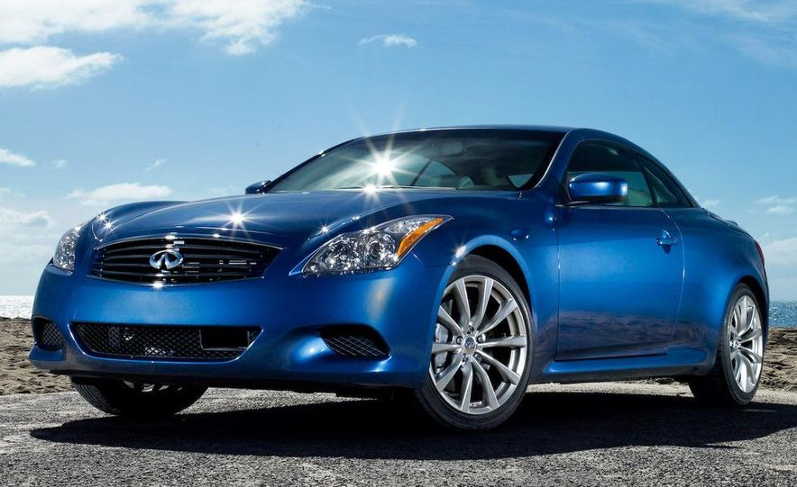 2009 Infiniti G37 convertible and coupe - Slide 11