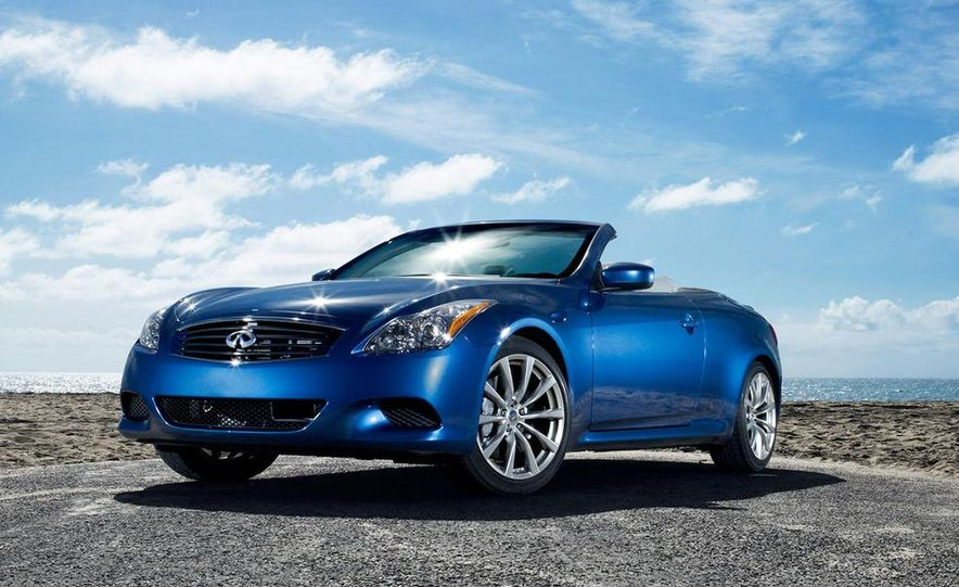 2009 Infiniti G37 convertible and coupe - Slide 12