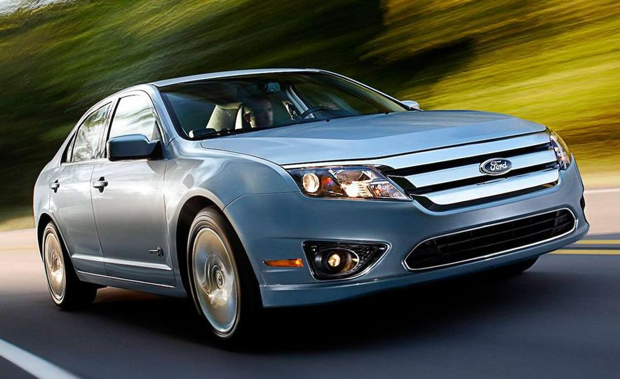 2010 Ford Fusion Sport - Slide 11