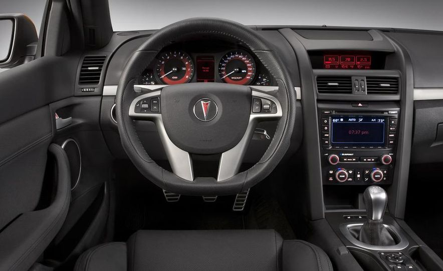 2009 Pontiac G8 GXP - Slide 21