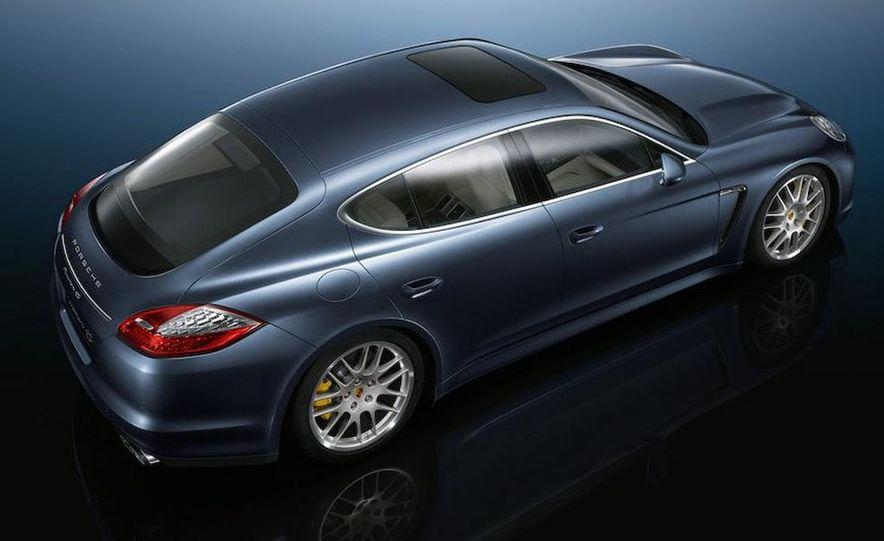 2010 Porsche Panamera Turbo - Slide 17