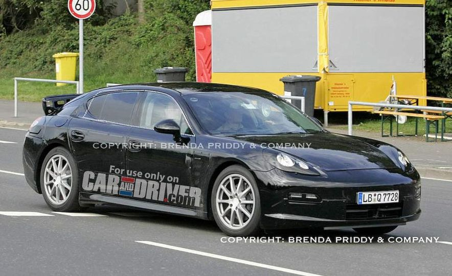2010 Porsche Panamera Turbo - Slide 43