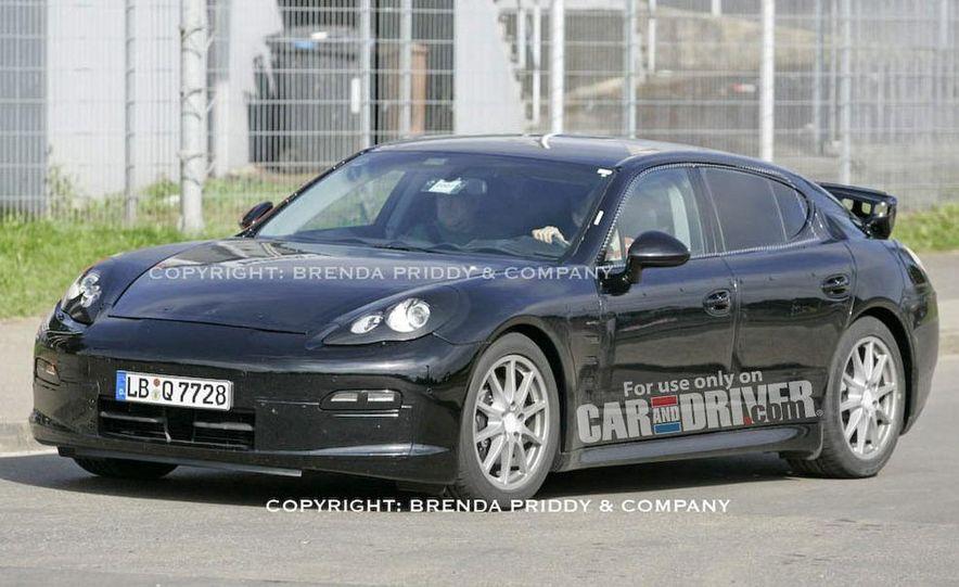 2010 Porsche Panamera Turbo - Slide 45
