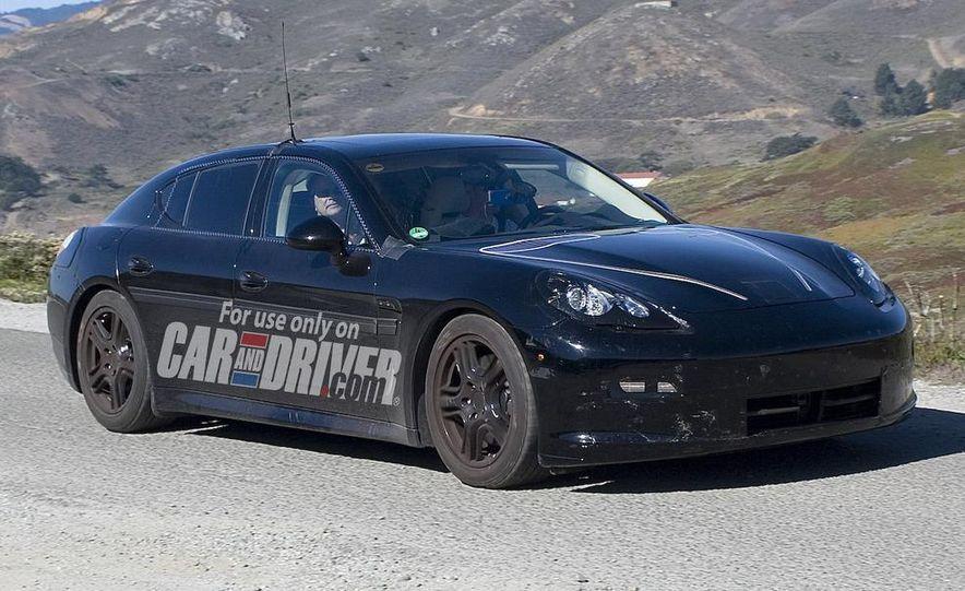 2010 Porsche Panamera Turbo - Slide 46