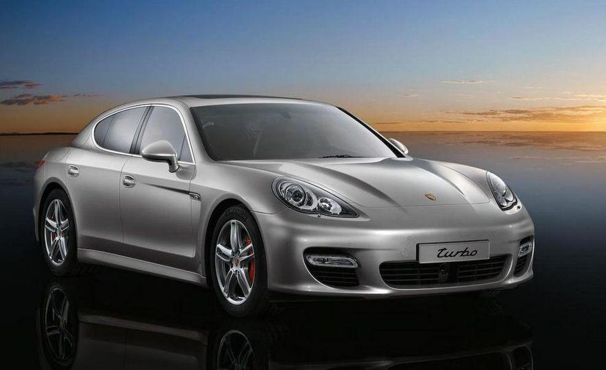 2010 Porsche Panamera Turbo - Slide 1