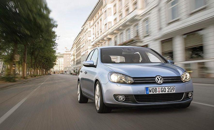 2010 Volkswagen Golf 5-door (European spec) - Slide 3