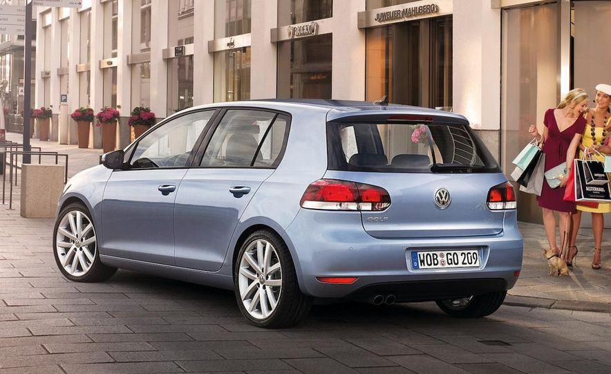 2010 Volkswagen Golf 5-door (European spec) - Slide 9