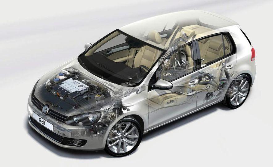 2010 Volkswagen Golf 5-door (European spec) - Slide 13