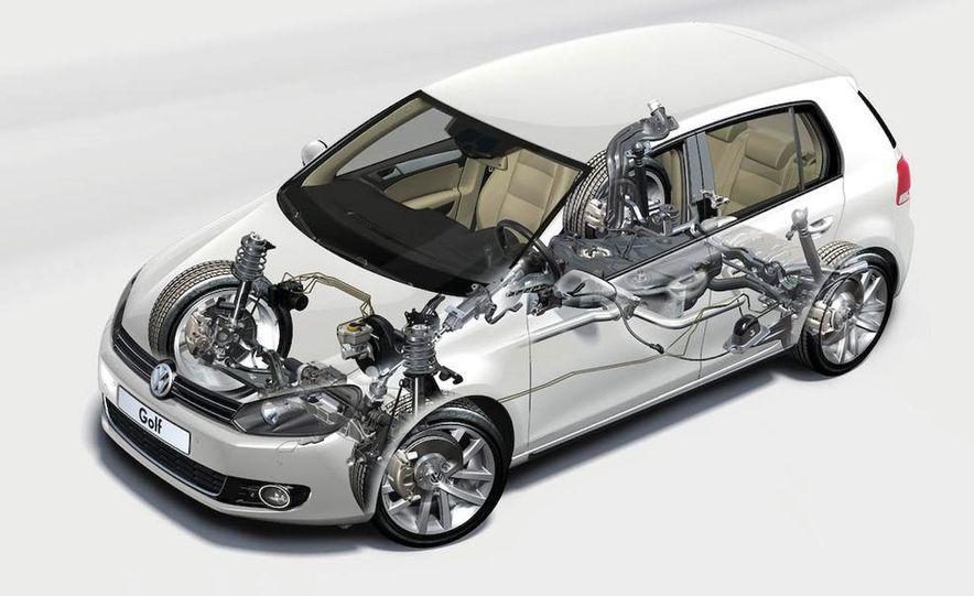 2010 Volkswagen Golf 5-door (European spec) - Slide 14