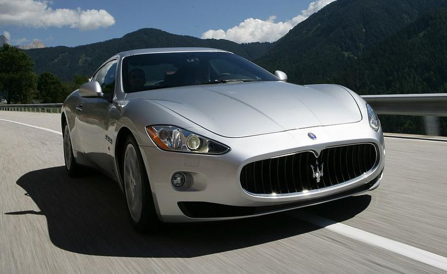 2009 Maserati GranTurismo S 4.7 wheel - Slide 3
