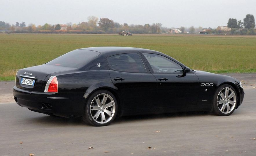 2009 Maserati GranTurismo S 4.7 wheel - Slide 19