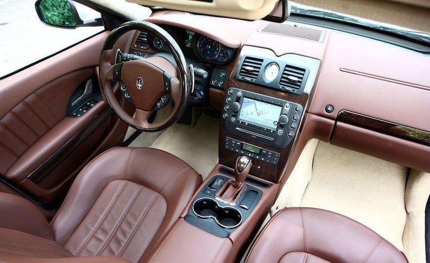 2009 Maserati GranTurismo S 4.7 wheel - Slide 28