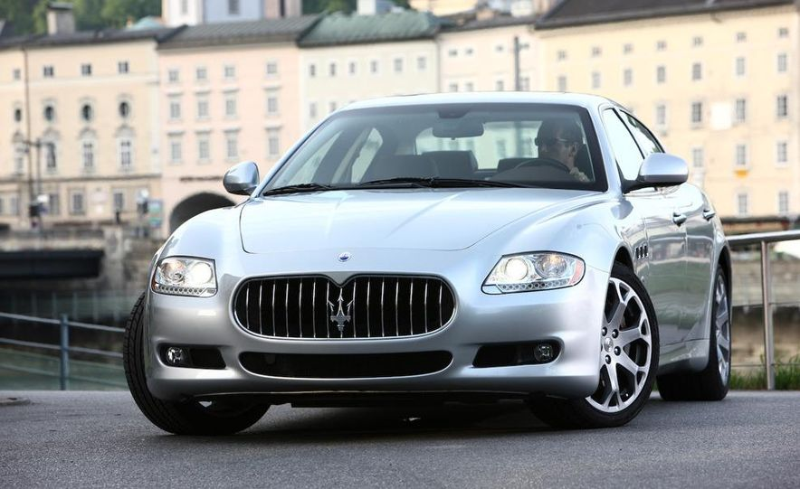 2009 Maserati GranTurismo S 4.7 wheel - Slide 24
