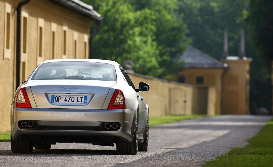 2009 Maserati GranTurismo S 4.7 wheel - Slide 26