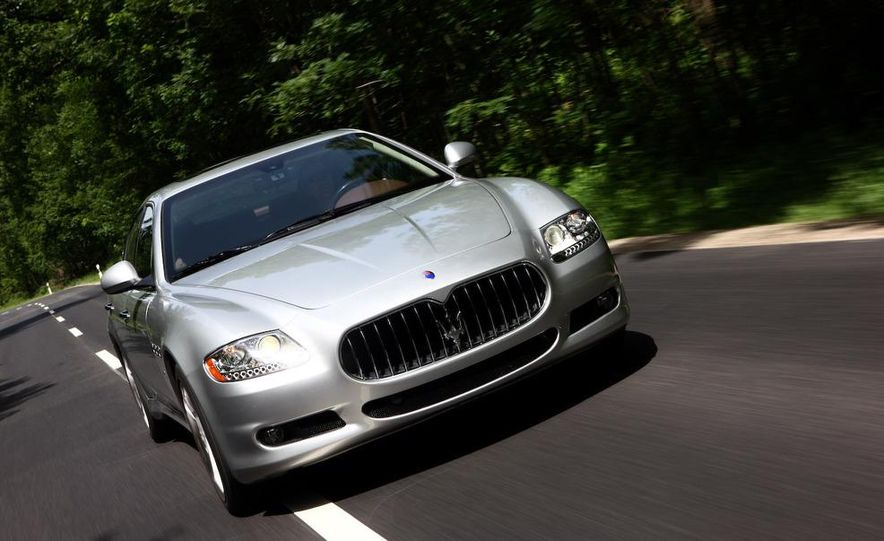 2009 Maserati GranTurismo S 4.7 wheel - Slide 27