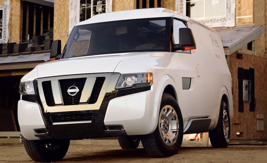 Nissan NV2500 concept - Slide 1