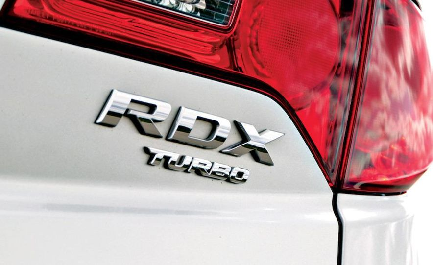 2007 Acura RDX wheel - Slide 11