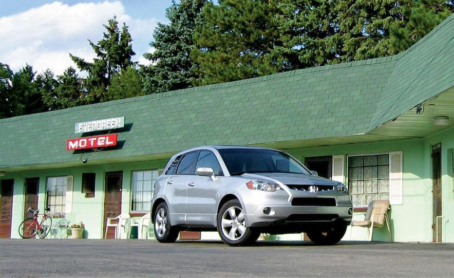 2007 Acura RDX wheel - Slide 6