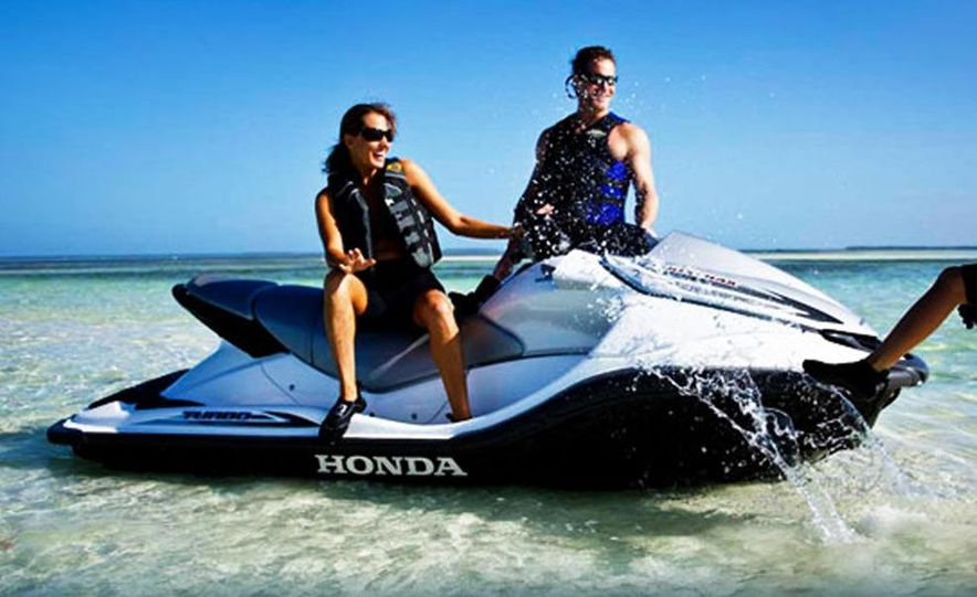 Honda AquaTrax F-15X personal watercraft - Slide 1