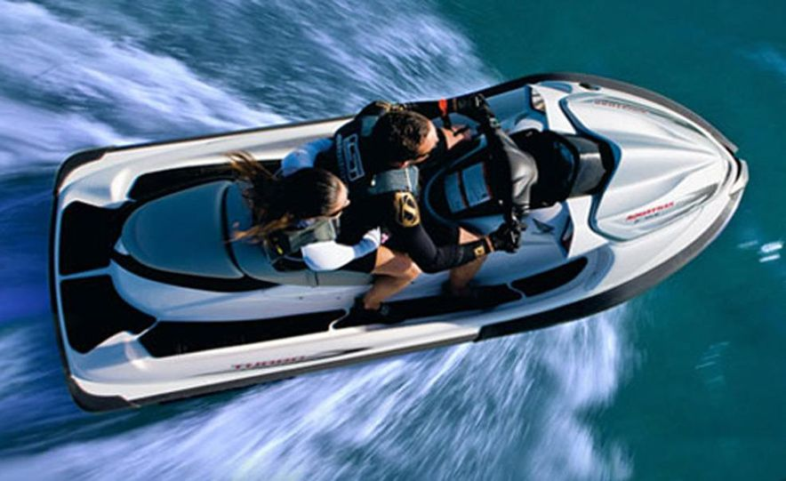 Honda AquaTrax F-15X personal watercraft - Slide 6