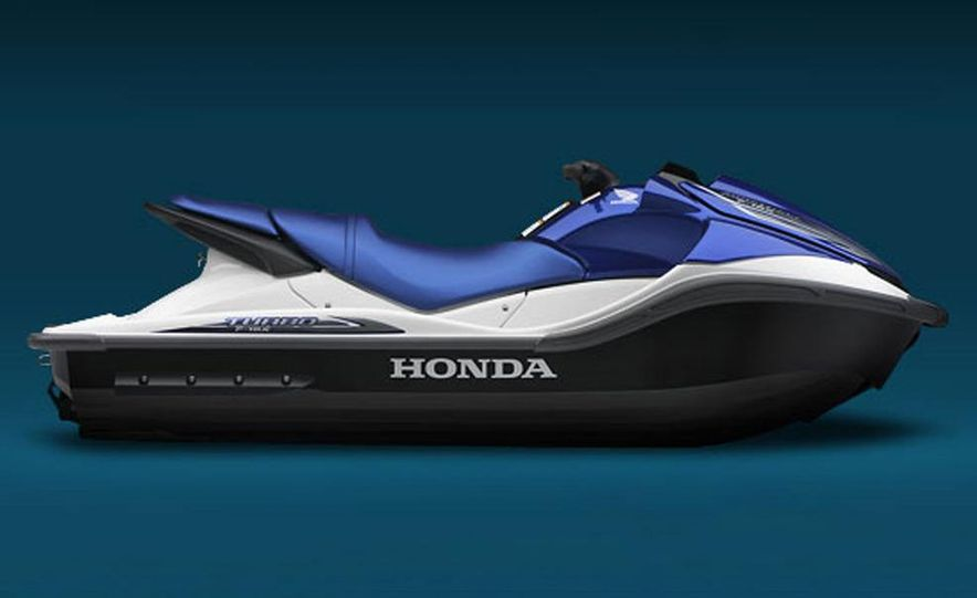Honda AquaTrax F-15X personal watercraft - Slide 7