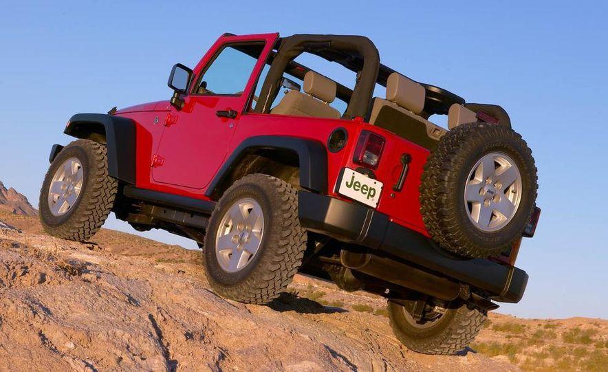 2008 Jeep Wrangler interior - Slide 8