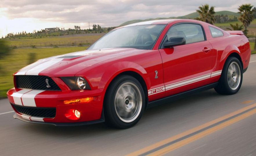 2008 Ford Mustang Shelby GT500 coupe - Slide 6