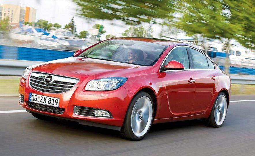 2009 Opel Insignia sedan - Slide 1