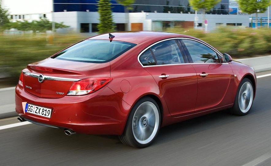 2009 Opel Insignia sedan - Slide 4