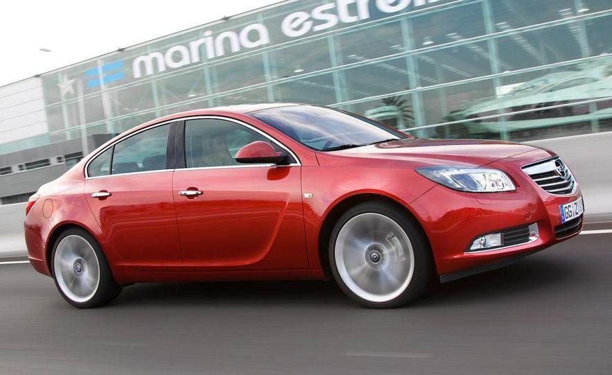 2009 Opel Insignia sedan - Slide 5