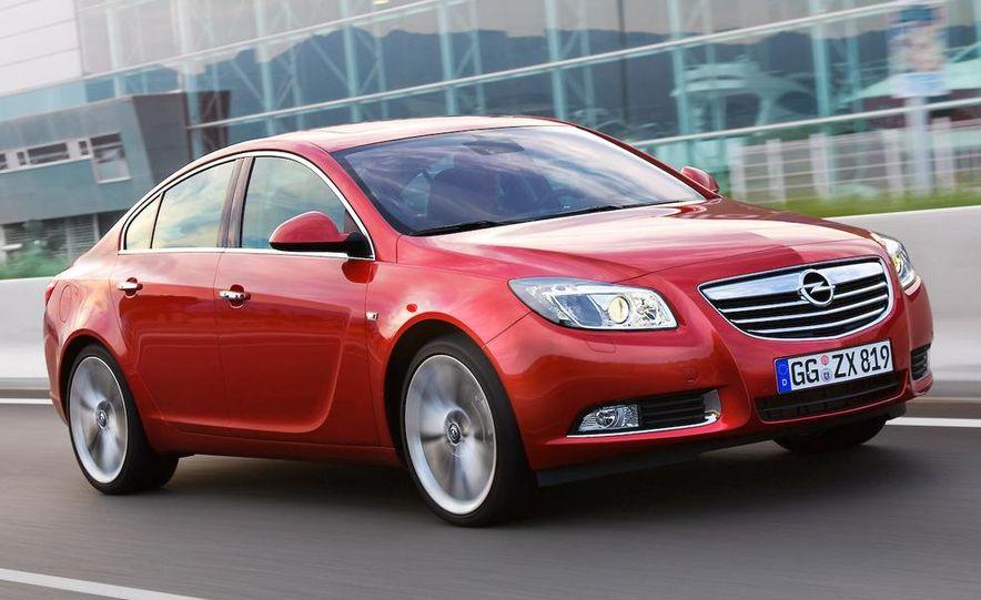 2009 Opel Insignia sedan - Slide 6