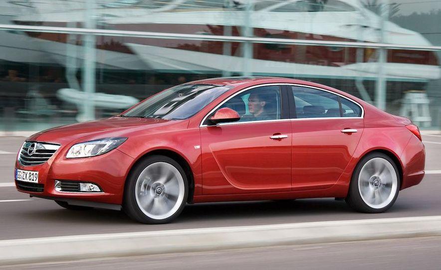 2009 Opel Insignia sedan - Slide 7