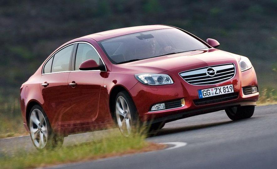2009 Opel Insignia sedan - Slide 8